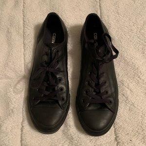Converse Shoes - Leather Converse Tennis Shoes